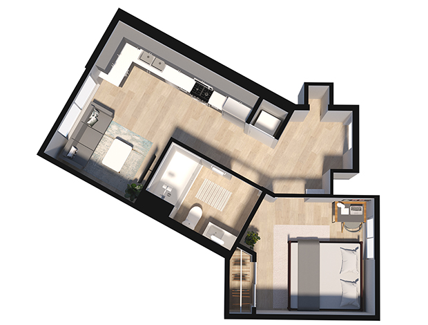Floorplan element